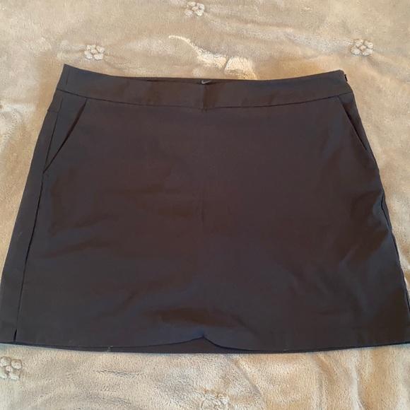 Black Nike Golf Skirt